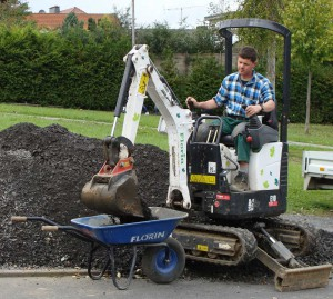 florin gartenbau - maschinen- und fuhrpark, Gartenarbeit ideen